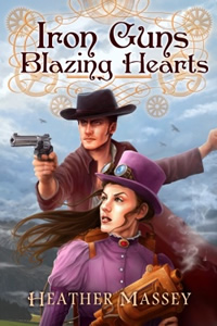 Iron Guns Blazing Hearts by Heather Massey