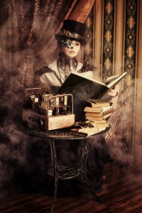 Steampunk woman canstockphoto17114582