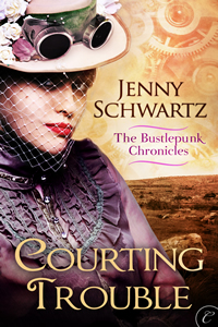 Courting Trouble by Jenny Schwartz