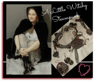 Witchy Steampunk Collage