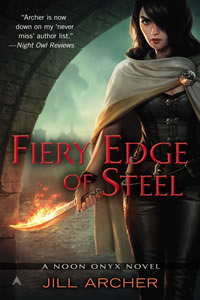 Fiery Edge of Steel by Jill Archer