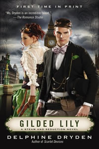 Gilded lily by Delphine Dryden