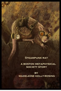 Steampunk Rat by Madeleine Holly-Rosing