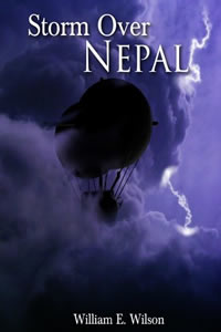 Storm Over Nepal by William E. Wilson