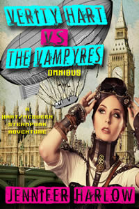 Verity Hart Vs The Vampyres Omnibus by Jennifer Harlow