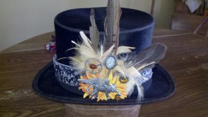 Win an original Feather Fascinator to adorn your hair or hat. (Hat not included in raffle).