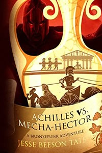 Achilles vs Mecha-Hector by Jesse Beeson Tate