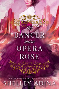 The Dancer wore Opera Rose by Shelley Adina